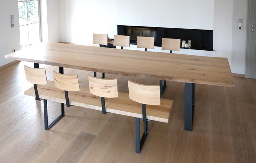 wohnzimmer esstisch projekte achimmayrinbau schreinermeister. Black Bedroom Furniture Sets. Home Design Ideas